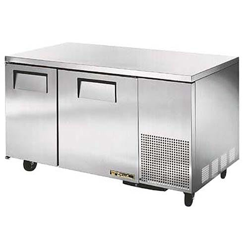 "True - TUC-60-32 61"" Deep Undercounter Refrigerator Commercial refrigerator sold by Food Service Warehouse"