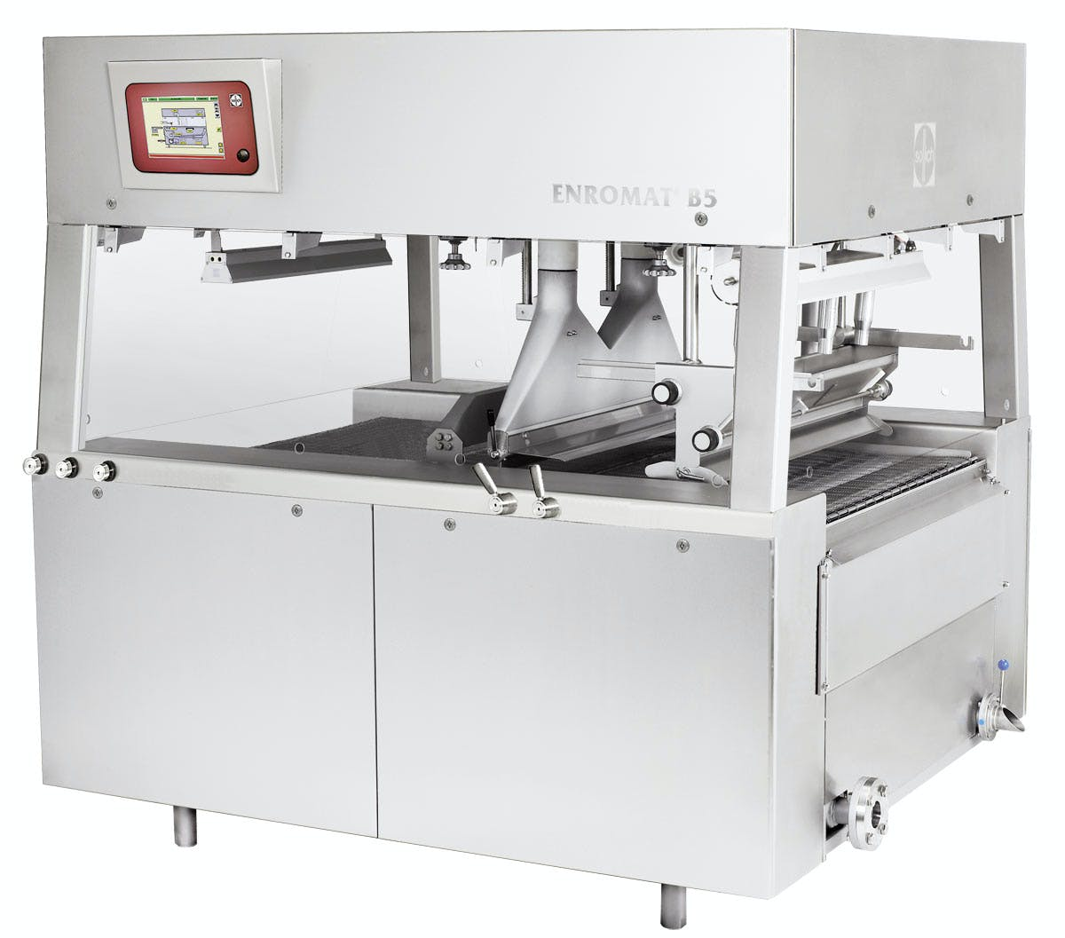 Sollich Enromat B5 Chocolate enrober sold by Sollich North America
