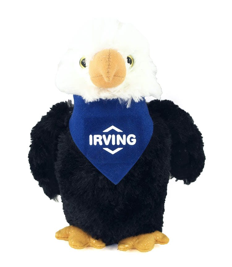 Eagle with Bandana (Item # MBFPN-JNYXS) Stuffed toy sold by InkEasy