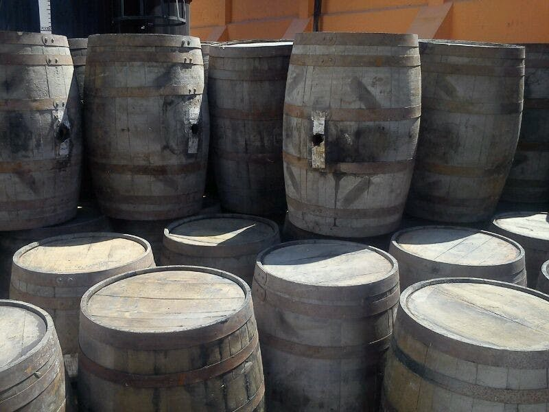 USED Freshly dumped (200L/53-gal) - USED Tequila (Imported) - sold by Rocky Mountain Barrel Company