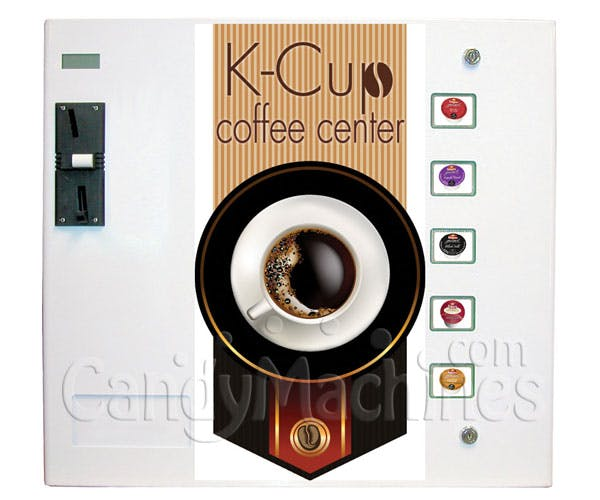 Seaga K-Cup Coffee Vending Machine Vending machine sold by CandyMachines.com