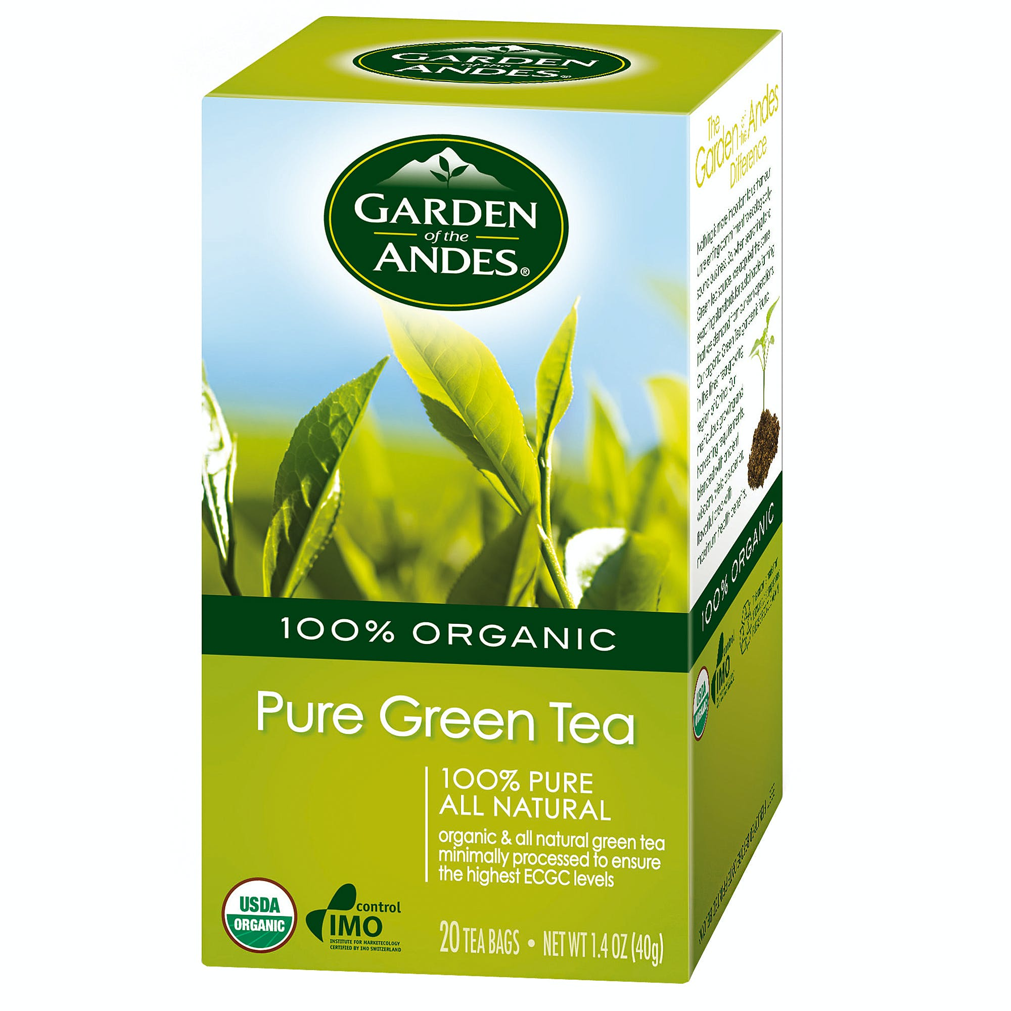 Organic Pure Green Tea Tea sold by M5 Corporation