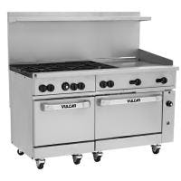 "Vulcan 60SS-6B24G - 60"" Gas Range 2 Ovens 6 Burners 24"" Griddle Commercial range sold by Prima Supply"