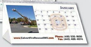 Custom calendars Custom calendar sold by Distrimatics, USA