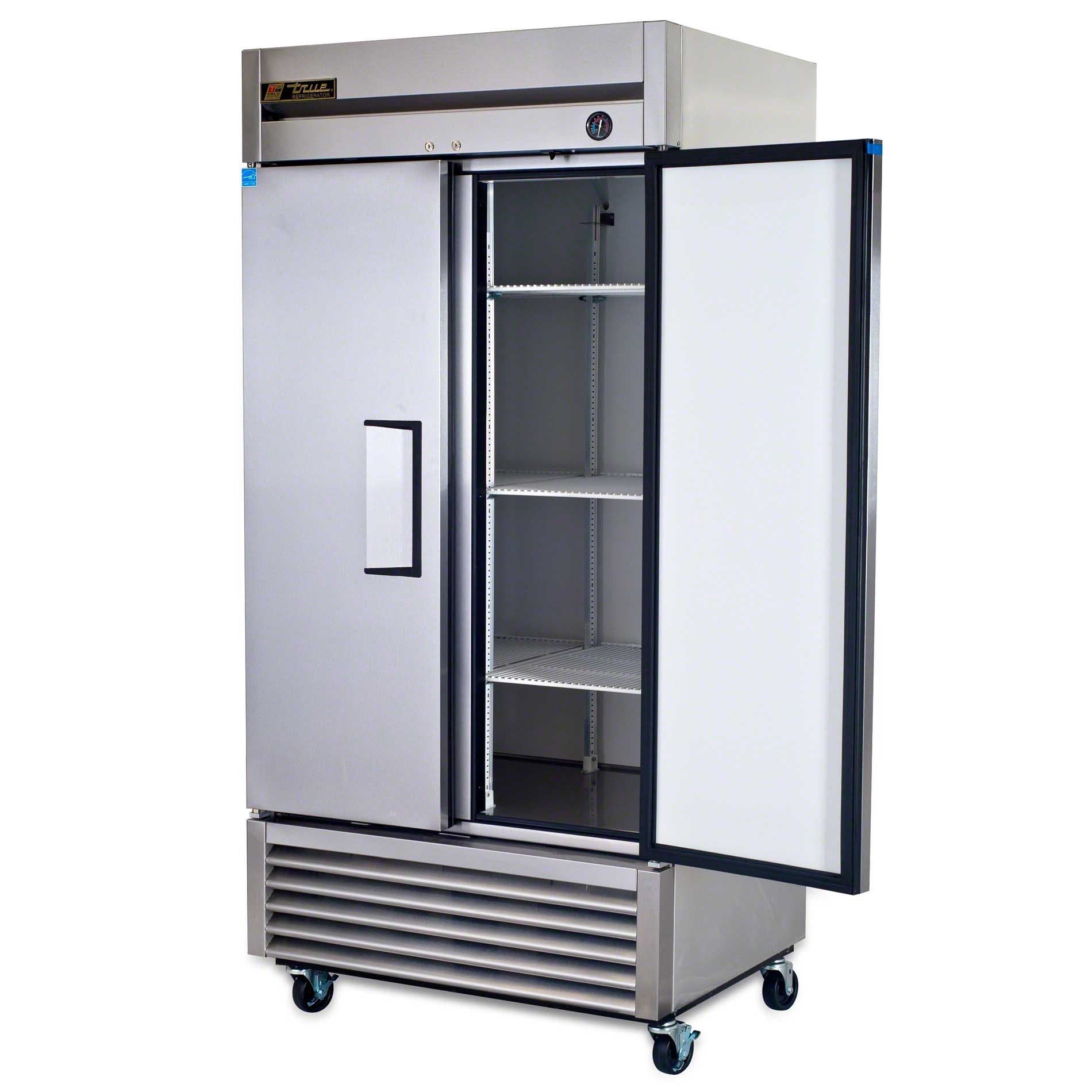"True ( T-35 ) - 40"" Solid Door Reach-In Refrigerator - sold by Food Service Warehouse"