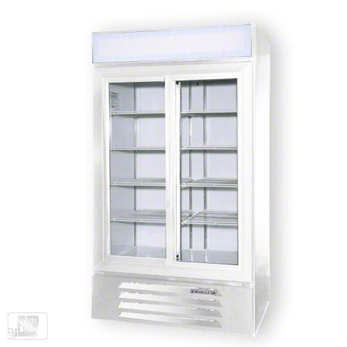"Beverage Air - LV38-1 44"" Glass Door Merchandiser - sold by Food Service Warehouse"