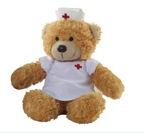 Nurse Bear (Item # NDIIU-JYROZ) Stuffed toy sold by InkEasy