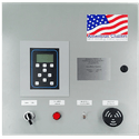 Auto Brewery Control Panel Connects to Computer - Glycol chiller sold by American Chillers and Cooling Tower Systems