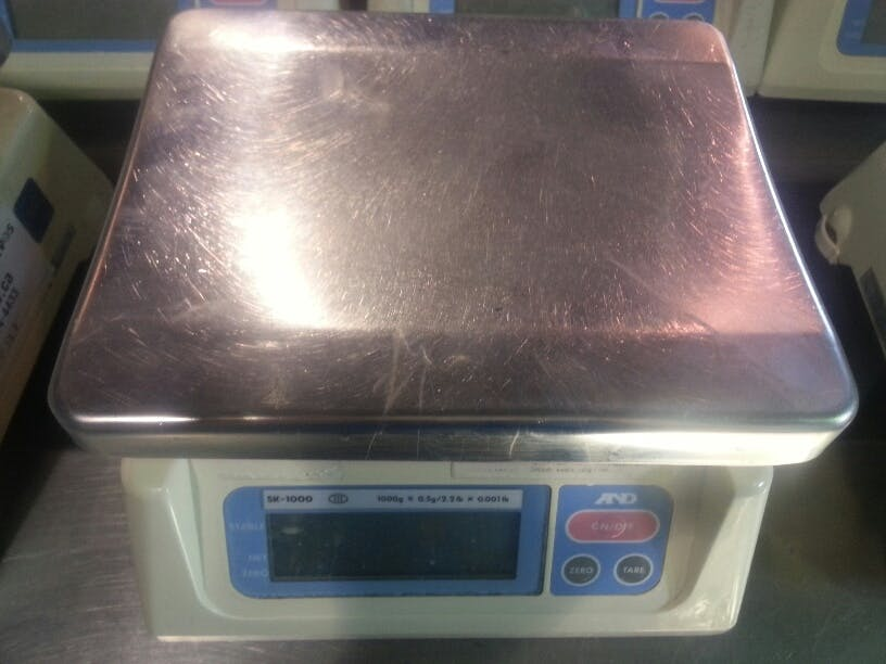 GTR SK1000 Balance Scale and weighing system sold by Aevos Equipment