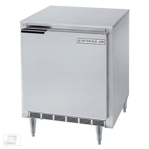 "Beverage Air - UCR27Y 27"" Shallow Depth Undercounter Refrigerator Commercial refrigerator sold by Food Service Warehouse"