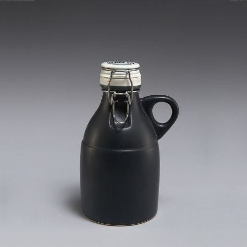 Grigri Growlette - Matte Black 32oz Growler sold by Portland Growler Company