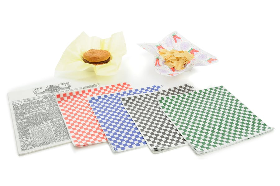 Grease resistant wrap & liner Deli paper sold by Zenith Specialty Bag