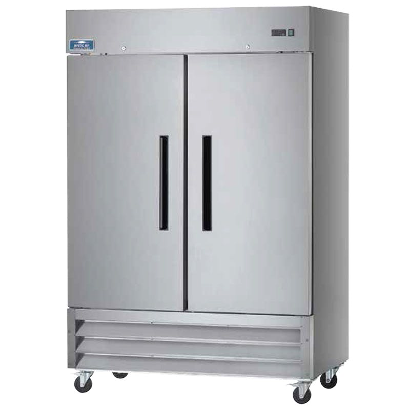 Arctic Air AF49 Reach In Freezer (2-Door) Commercial freezer sold by pizzaovens.com