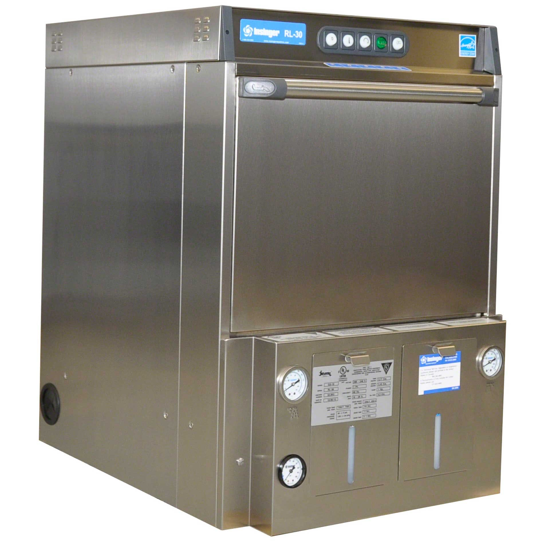 Insinger - RL30 30 Rack/Hr Undercounter Dishwasher Commercial dishwasher sold by Food Service Warehouse