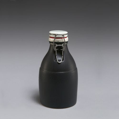 The Growlette - Matte Black 32oz Growler sold by Portland Growler Company