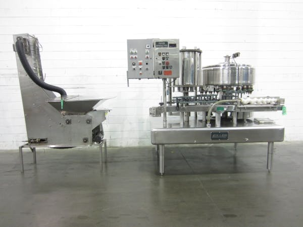 Used FILLER SPECIALTIES 24 Valve Filler with 8 Head Capper For Sale Bottle filler sold by SMB Machinery Systems