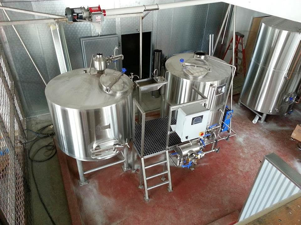 10 bbl brewhouse Brewhouse sold by Ager Tank & Equipment Co.
