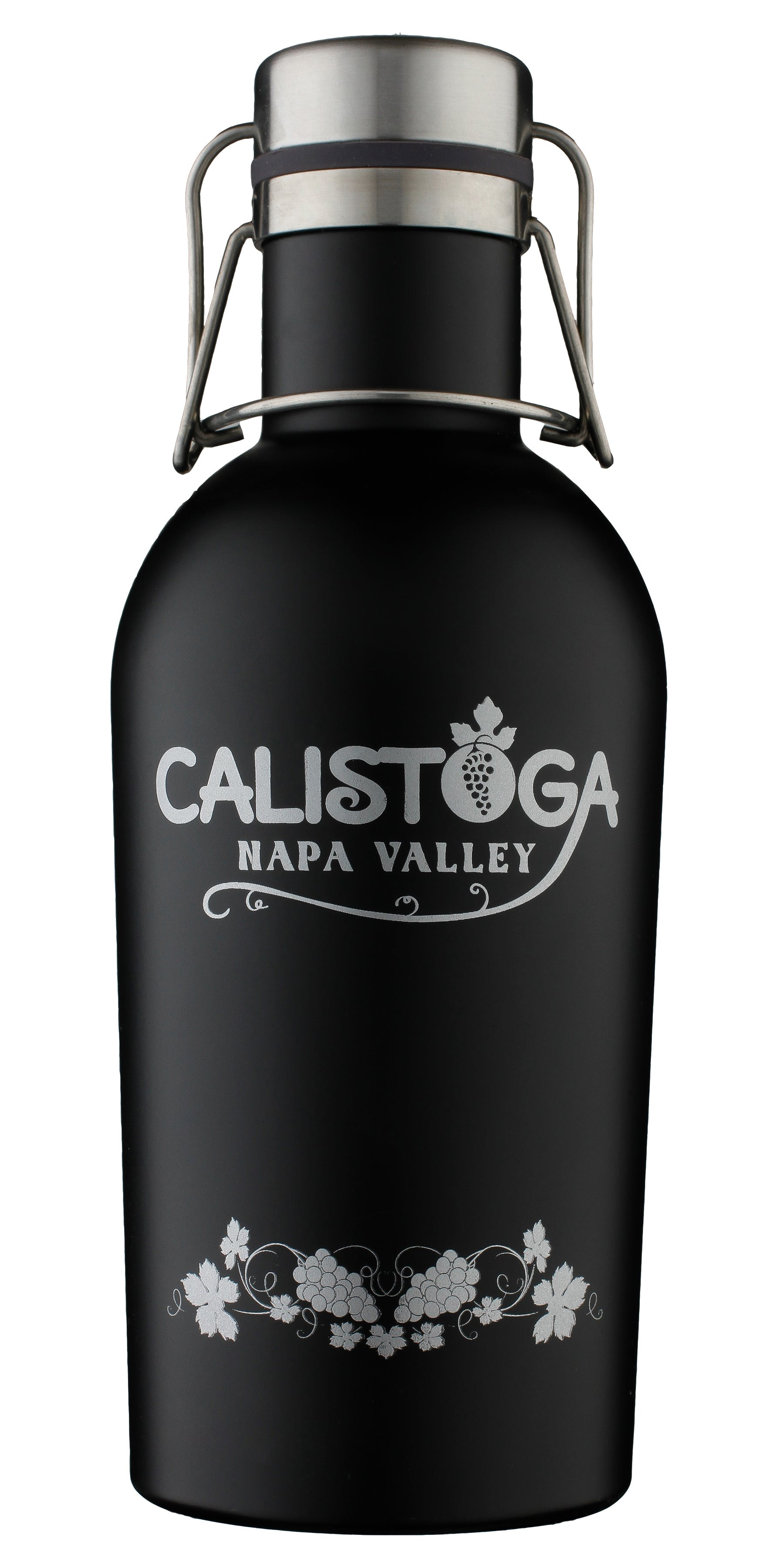 double walled vacuum packed powder coated Growler sold by Brewsuit.com