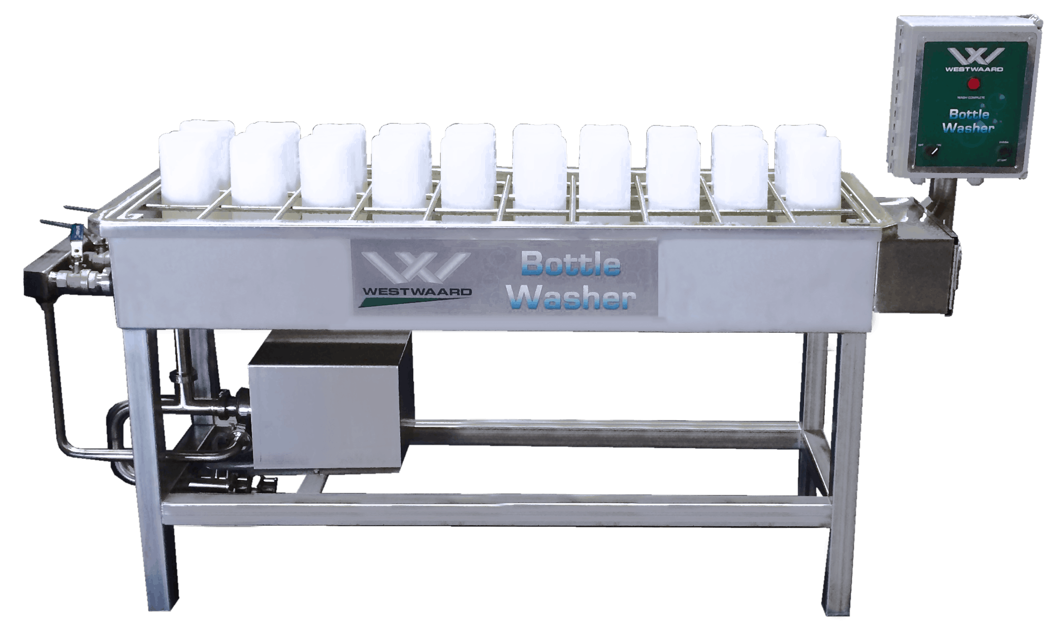 Calf Milk Bottle Washer Bottle washer sold by DariTech