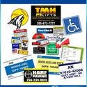 Labels, Decals or Stickers! All types and sizes!  - Promotional sticker sold by Lee Marketing Group