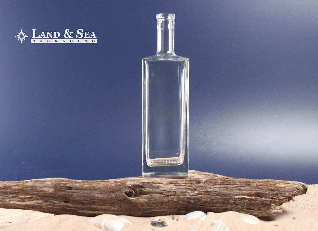 Liberty Spirit Bottle Liquor bottle sold by Land & Sea Packaging
