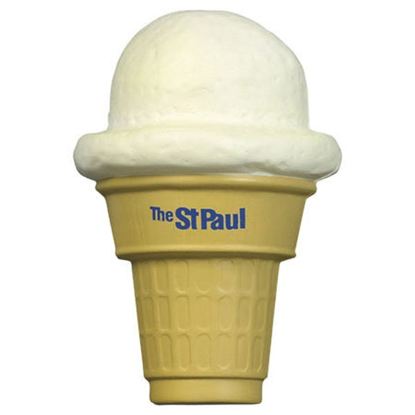 Ariel :: Ice Cream Cone - LFD-IC08 Stress reliever sold by Distrimatics, USA