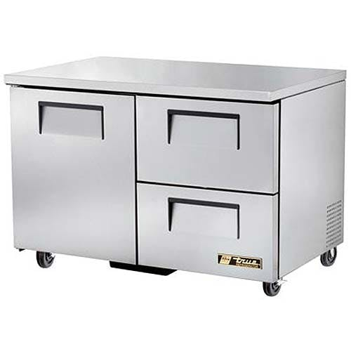 "True - TUC-48D-2 49"" Undercounter Refrigerator w/ Drawers Commercial refrigerator sold by Food Service Warehouse"