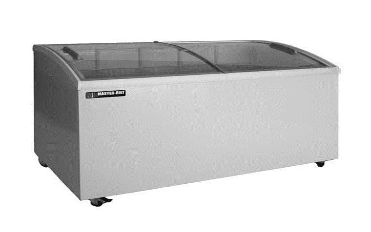Master-Bilt Curved Lid Display Freezer Merchandiser sold by pizzaovens.com