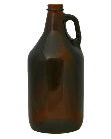 64 oz Amber Growlers Growler sold by DecoPrint of Chattanooga