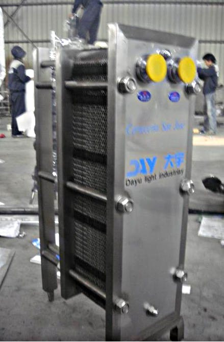 Wort Cooler Heat Exchanger Heat exchanger sold by Brew Bev
