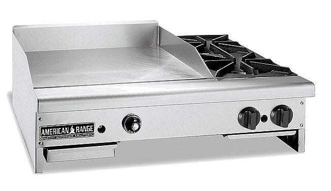 American Range G20B Series Gas Griddles Griddle sold by pizzaovens.com