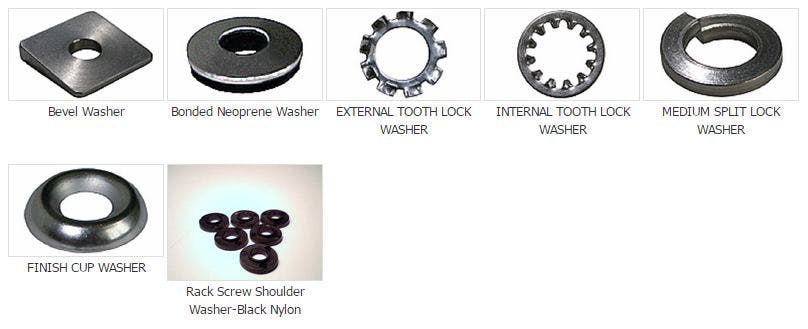 Washers Fastener sold by Melfast