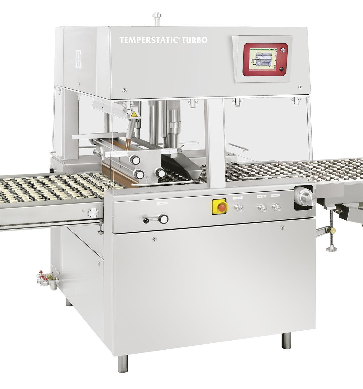 Sollich Temperstatic Turbo TTS/TEM Chocolate enrober sold by Sollich North America
