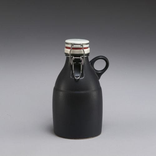 The Loop Growlette - Matte Black 32oz Growler sold by Portland Growler Company