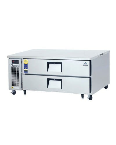 "EVEREST ECB52D2 CHEF BASE REFRIGERATOR 52"" Equipment stand sold by NJ Restaurant Equipment"