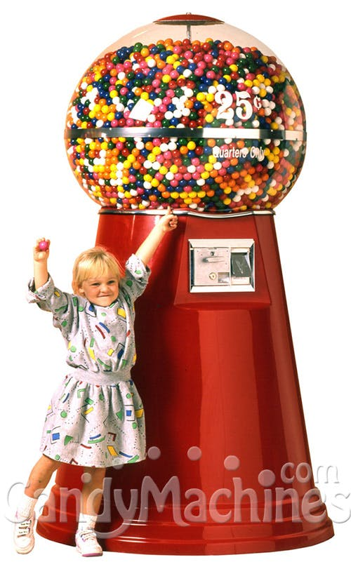 Big Mama Gumball Machine Vending machine sold by CandyMachines.com