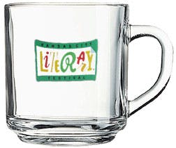 10 Oz. Glass Mug (Item # SINMT-IAXWU) Glass mug sold by InkEasy