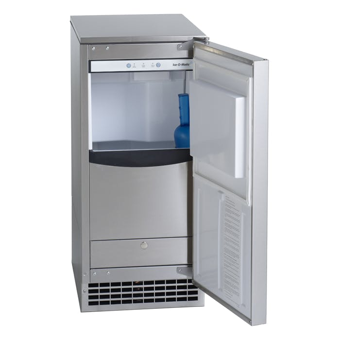 Ice-O-Matic GEMU090 85 lbs/day Undercounter Ice Machine - sold by Prima Supply