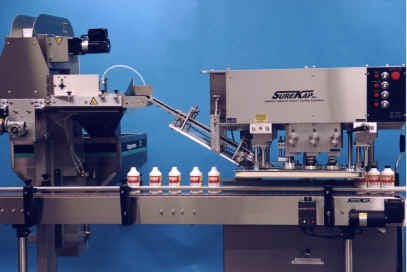 SK6000-SKFC Spindle Capping Machine Bottle capper sold by MSM Packaging Solutions
