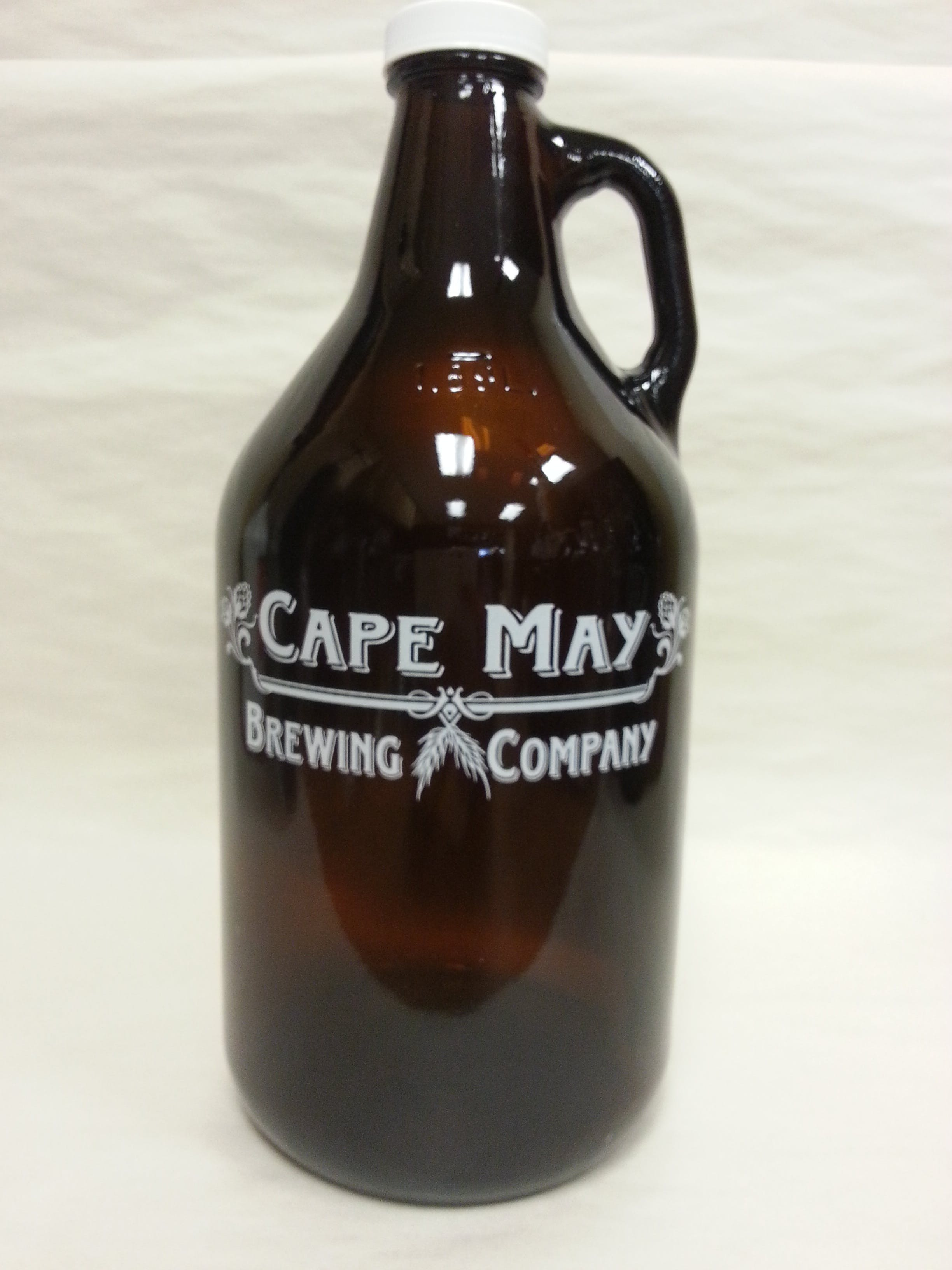 64 oz Growler Growler sold by Mission Screen Printing