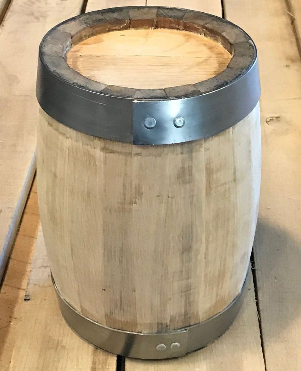 1/2 Gallon Barrel - sold by Anthony Barrel Company