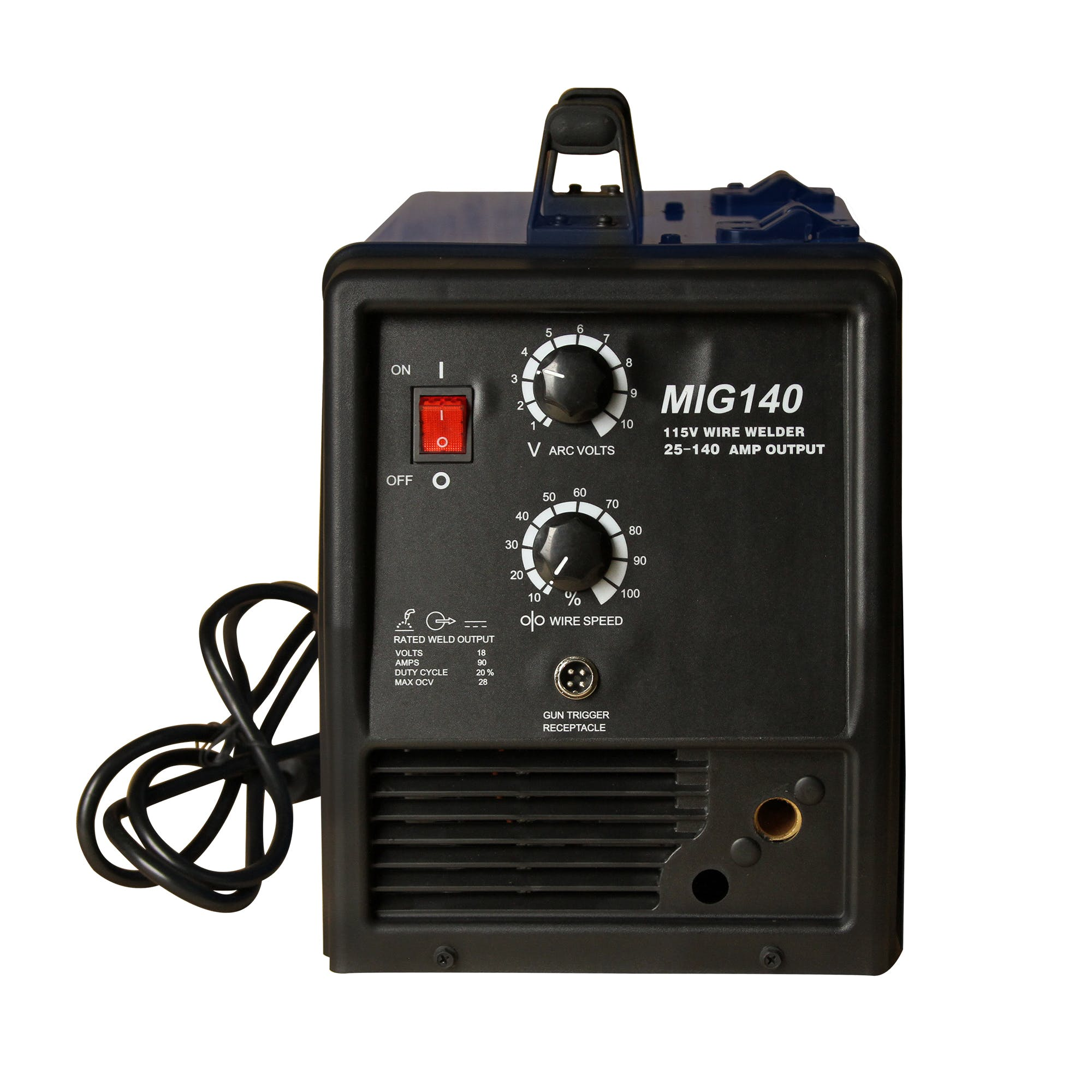 LOTOS MIG140 140A MIG Welder with SPOOL GUN - sold by LOTOS Technology