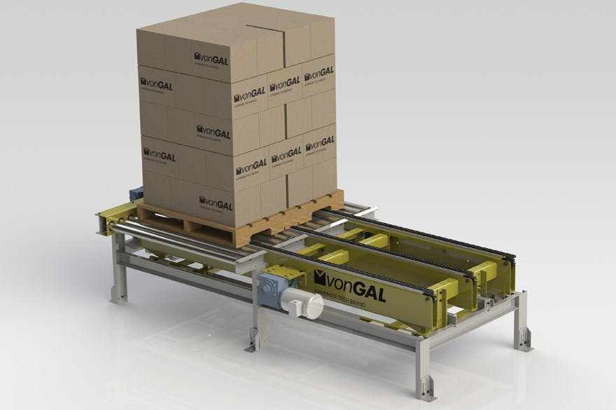 Pallet Conveyor Conveyor sold by Premier Tech Chronos