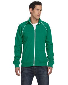 3710 Bella + Canvas Men's Piped Fleece Jacket Promotional apparel sold by Lee Marketing Group