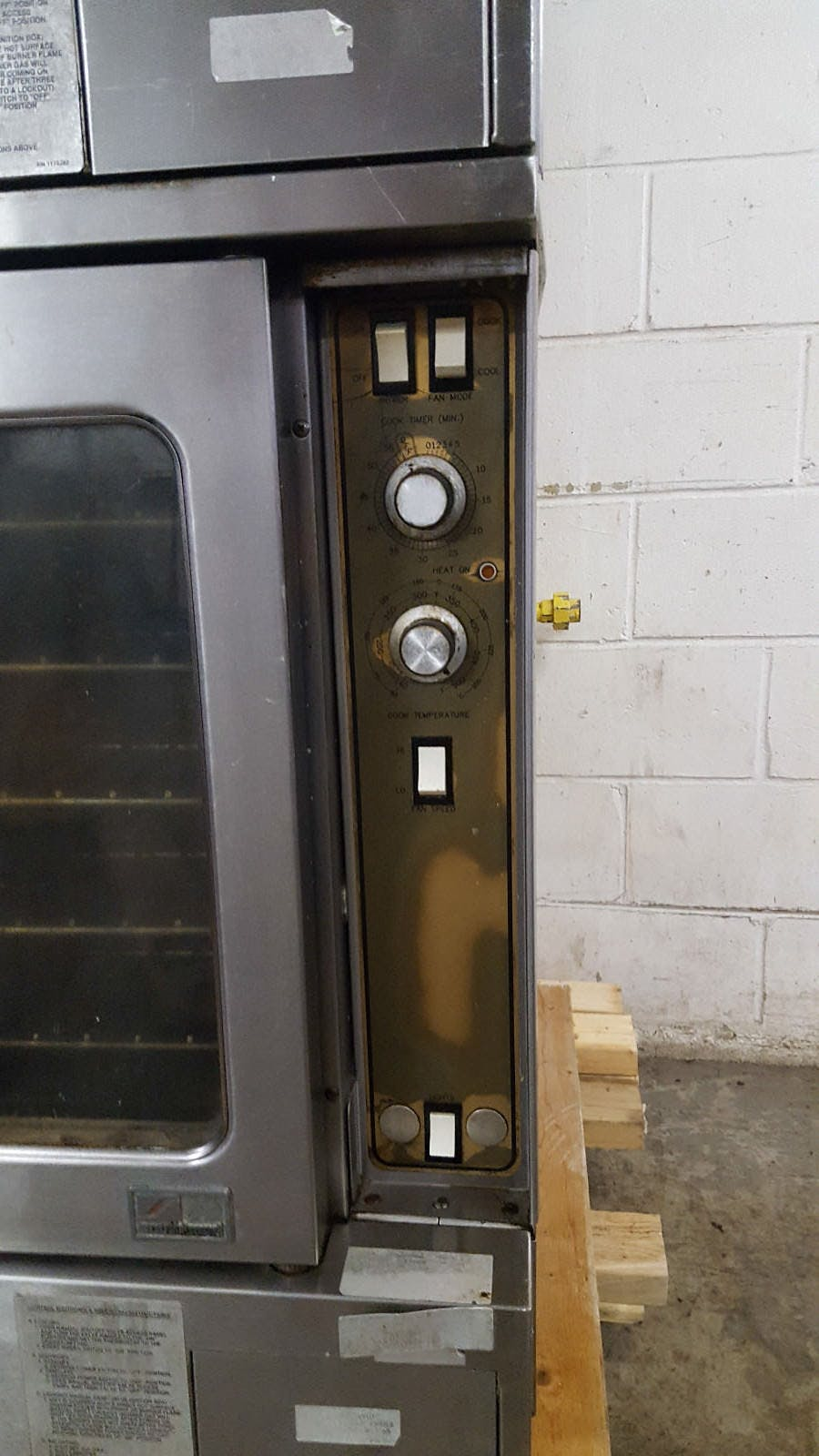 Southbend Marathoner Gold Natural Gas GS20SC Double Stack Convection Oven Tested - sold by Jak's Restaurant Supply
