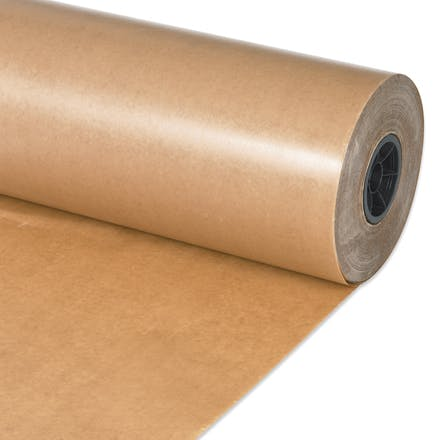 Waxed Kraft Paper Rolls Kraft packaging sold by Ameripak, Inc.