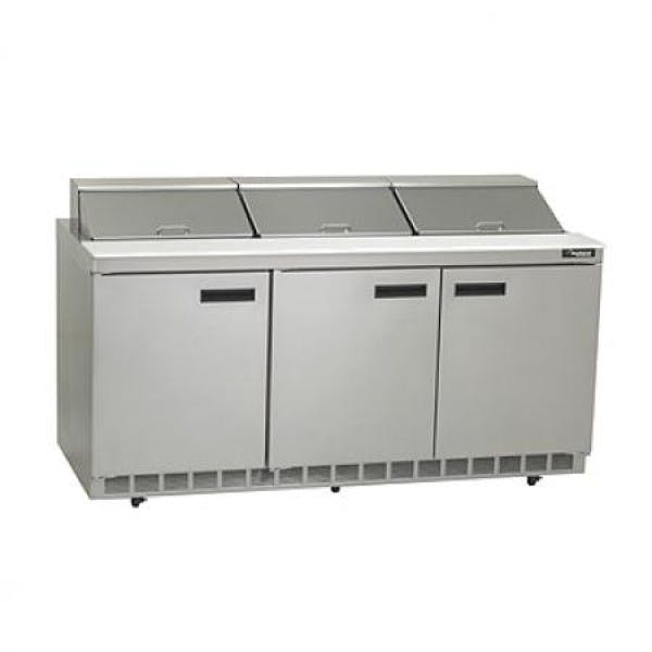 Mega Top Refrigerator Prep Table - V-DEF4472N-18M