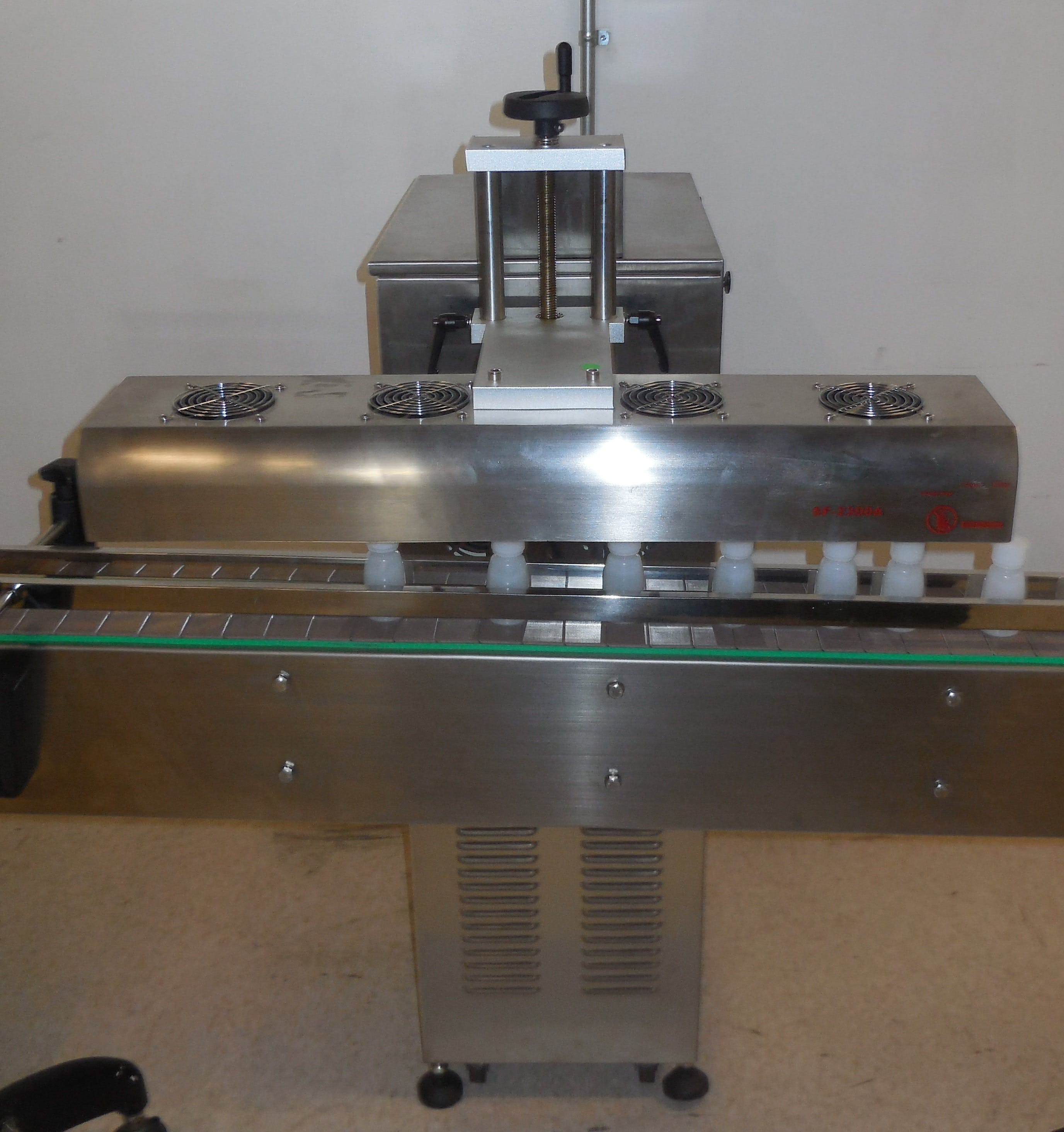 Induction Cap Sealers for Production Line - sold by Crystal Vision Packaging Systems