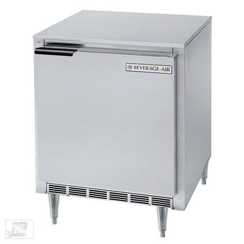 "Beverage Air ( UCF27 ) - 27"" Shallow Depth Undercounter Freezer"