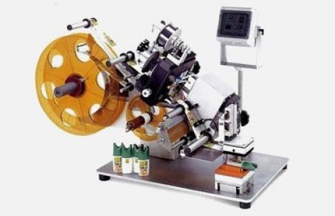 Tamp Labelers, Model 120 Bottle labeler sold by ACASI Machinery